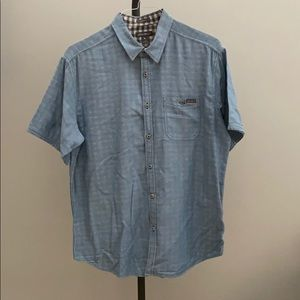 Eddie Bauer Short Sleeve Button Up, L